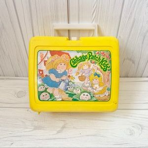 Vintage 80's cabbage patch lunch box